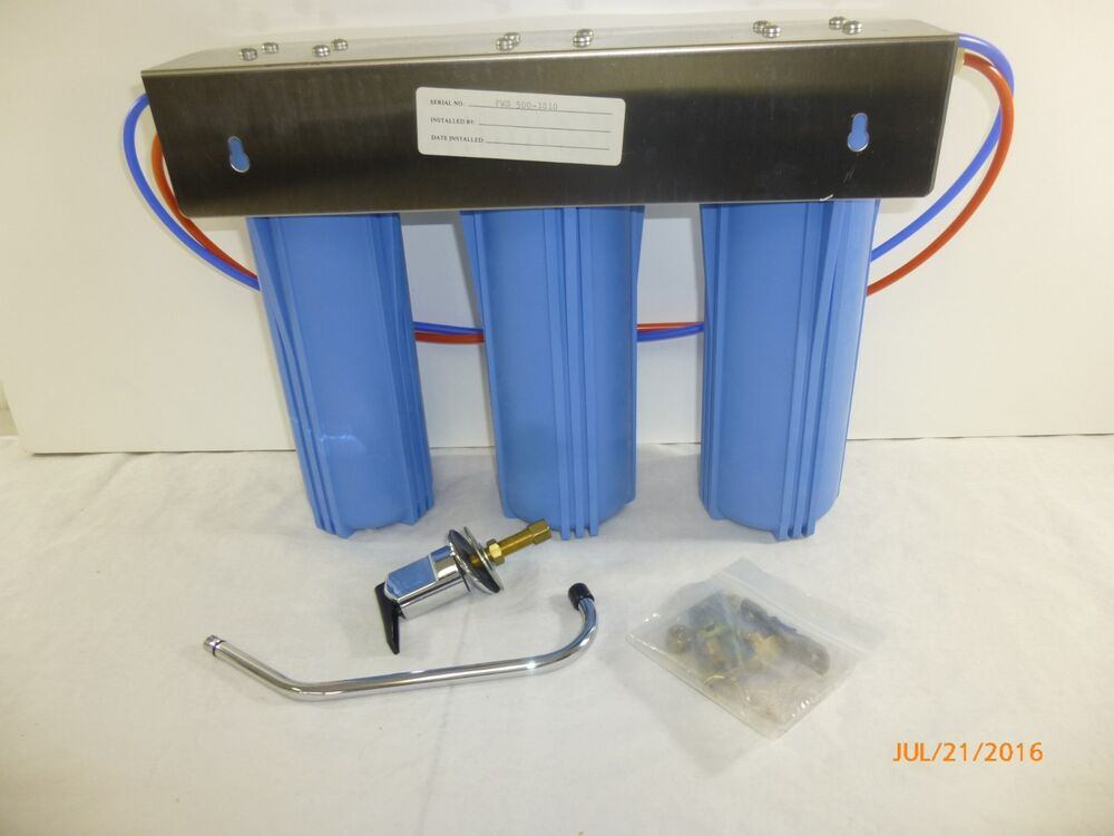 Pure Well Water Filtration System Under The Sink Filter Ebay