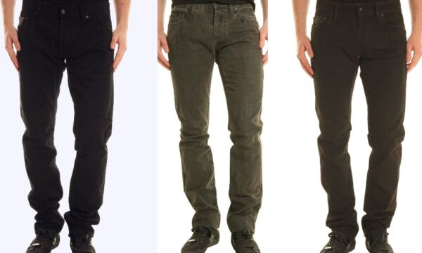 Pantaloni Uomo Jeans ABSOLUT JOY Trousers C254 Tg 31 32 33 34