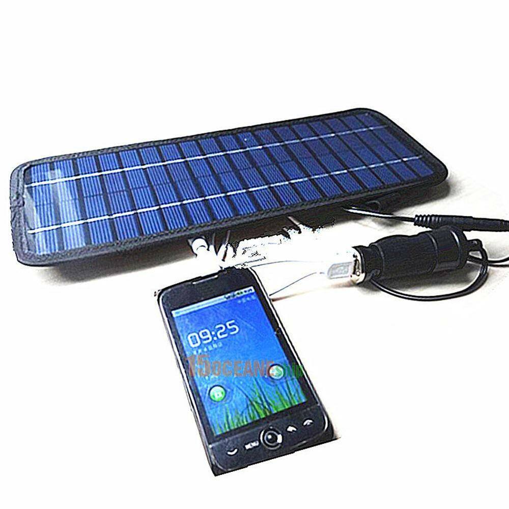 4 5w 12volt Smart Power Solar Panel Battery Charger For