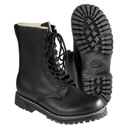 img-New Combat Boots Men's Leather boots black size 37-48 boots laced