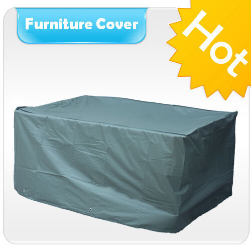 Waterproof Rectangular Table Cover Outdoor Garden Patio Furniture FS15N