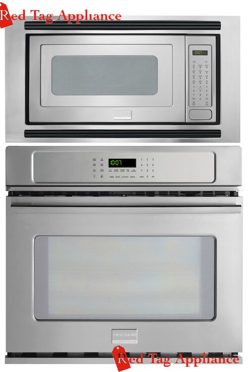Bundle Frigidaire Pro 27 Stainless Steel Electric Wall