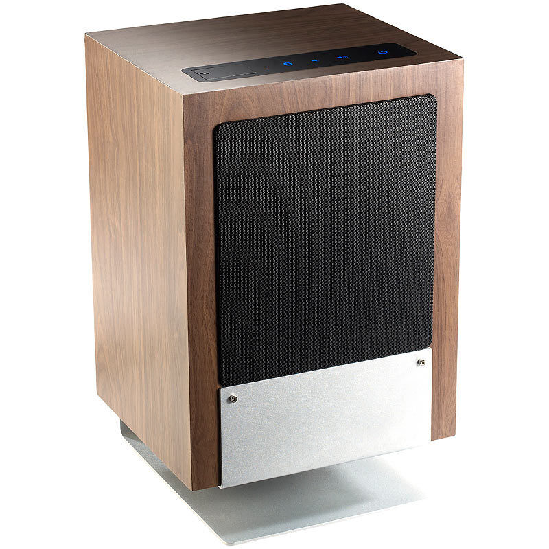 hifi holz lautsprecher msx 660 mit subwoofer bluetooth 2 1 100 watt ebay. Black Bedroom Furniture Sets. Home Design Ideas