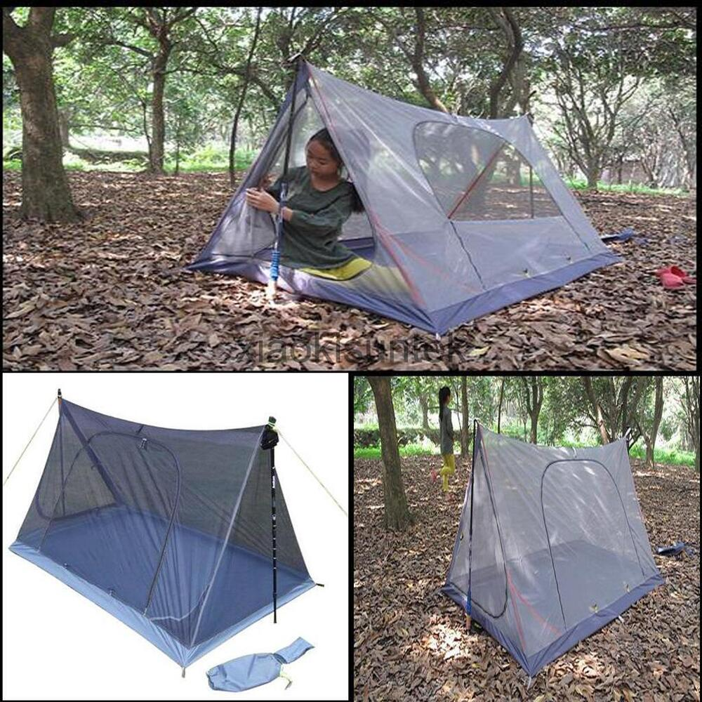 Lightweight Mosquito Net Backpacking Tent Outdoor Camping