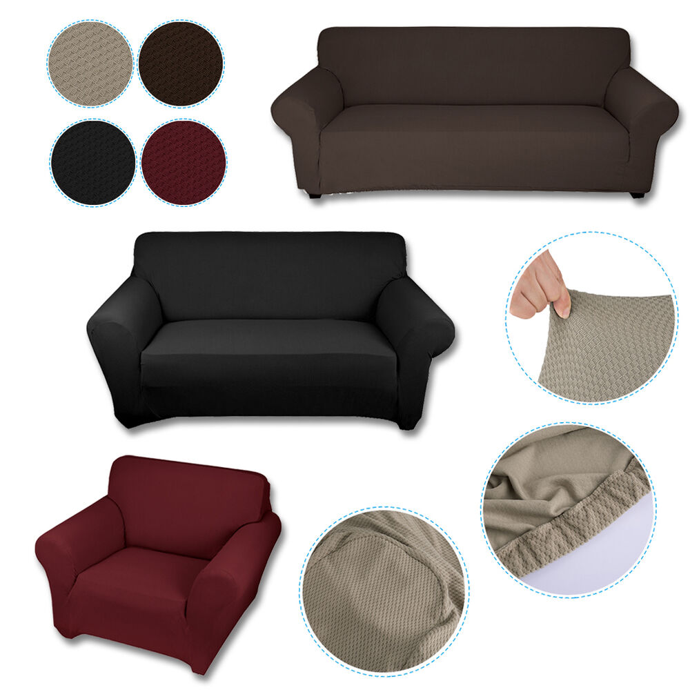 stretch sofabezug sesselbezug sitzbezug sofahusse sessel berw rfe 1 2 3 sitzer ebay. Black Bedroom Furniture Sets. Home Design Ideas
