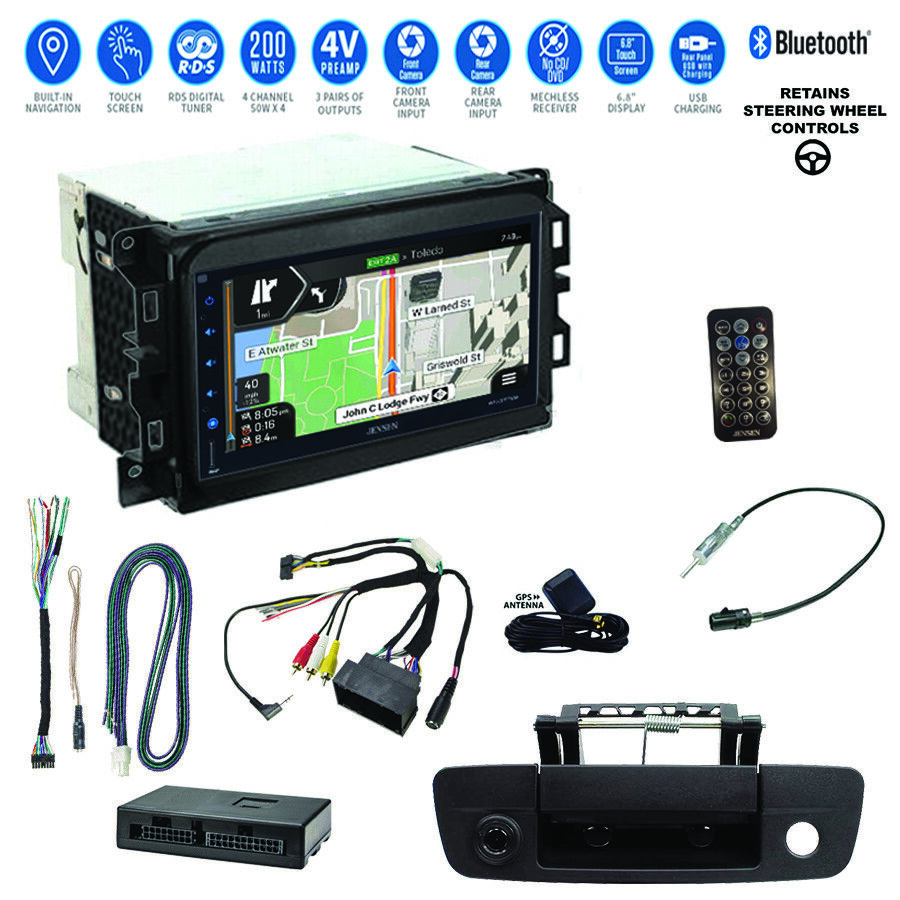 Chevy 3500 Truck GPS Navigation Sirius/XM USB Car Stereo+Backup Camera+13 ...