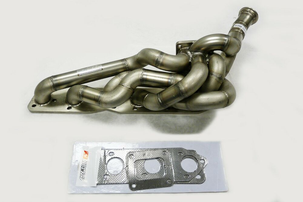 Obx Sand Blast T4 Turbo Exhaust Header Manifold Fits 1999 To 2006 M3 3 2l I6 E46 Ebay