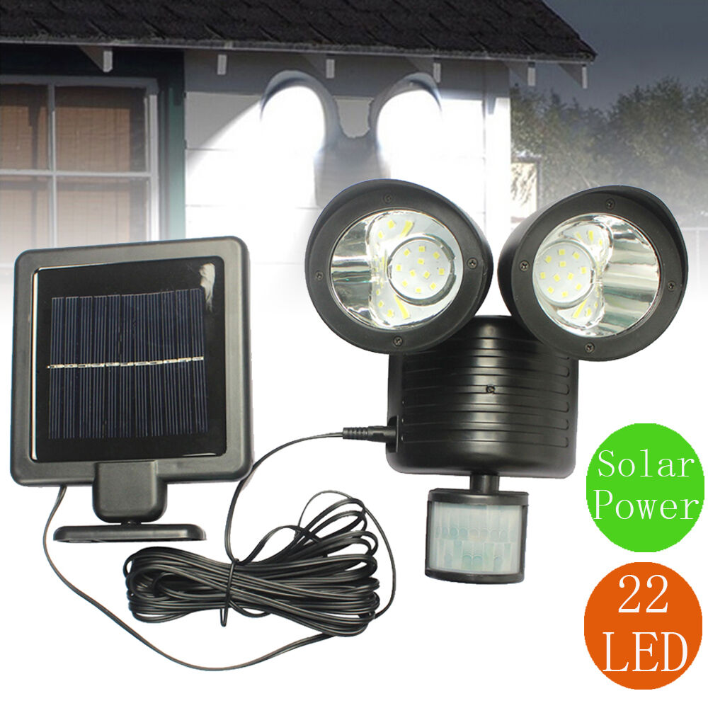 Solar Garage Outside Lights