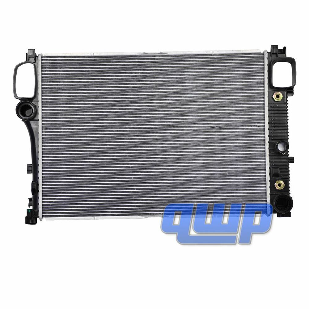 New 07 10 mercedes benz radiator for c216 w221 s550 s600 for Mercedes benz radiator