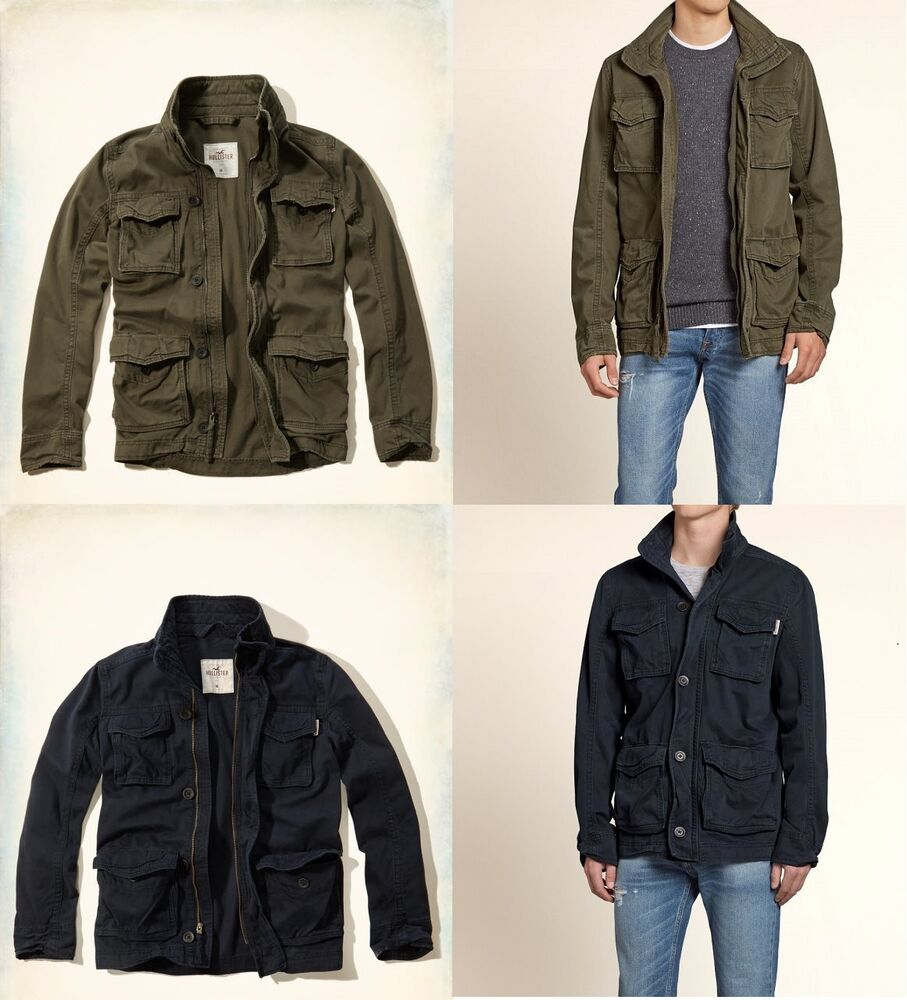 NWT HOLLISTER By ABERCROMBIE & FITCH MEN'S Twill Cargo