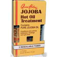 NEW QUEEN HELENE JOJOBA HOT OIL TREATMENT CONTROL BRITTLENESS DAILY SKIN CARE