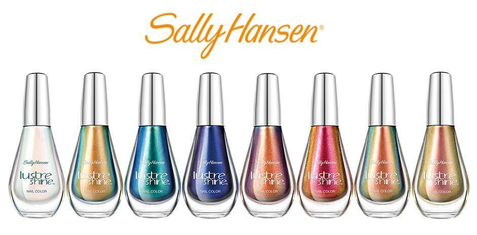 Sally Hansen Lustre Shine Nail Polish Choose Your Color! Buy 2 Get 1 ...
