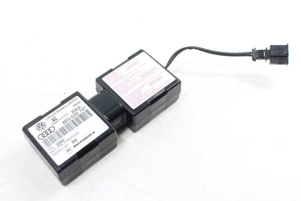 Auxiliary Lithium Battery Backup Audi A4 A6 A8 Allroad Rs6 8e0035747 Ebay