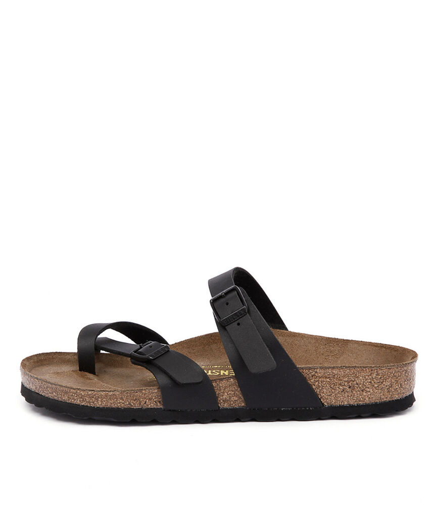 New Birkenstock Mayari Black Womens Shoes Casual Sandals ...