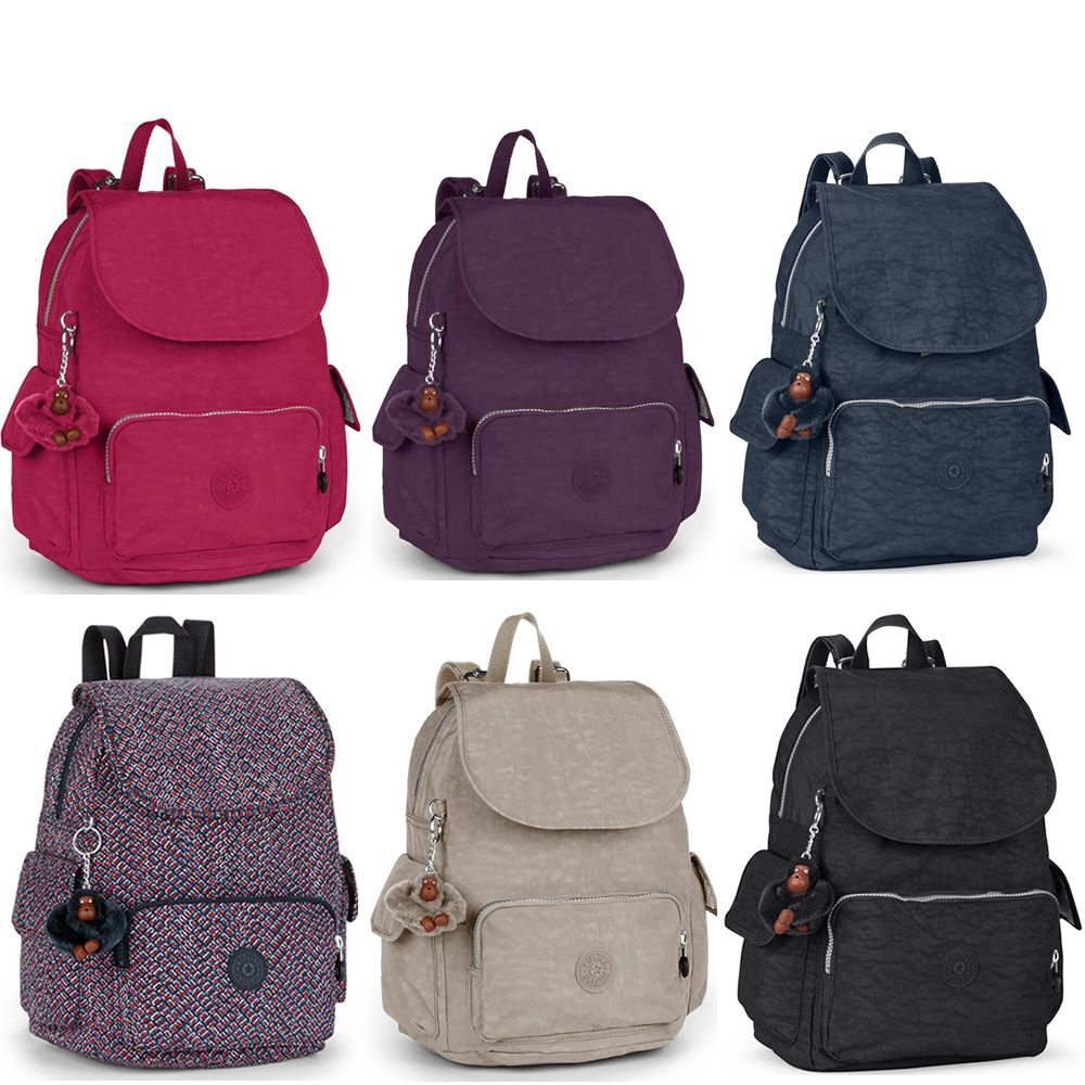 kipling city pack b bp as city pack s backpack best seller various colours ebay. Black Bedroom Furniture Sets. Home Design Ideas