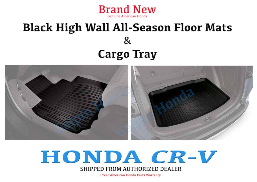 Genuine Oem Honda 2017 Cr V High Wall All Season Floor