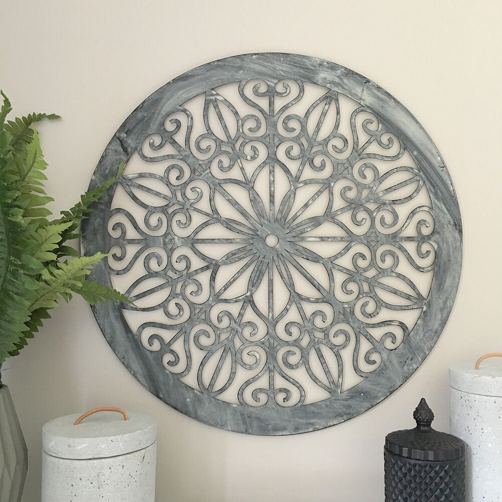 Decorative Round Metal Wall Panel/Garden Art/Screen/Wall