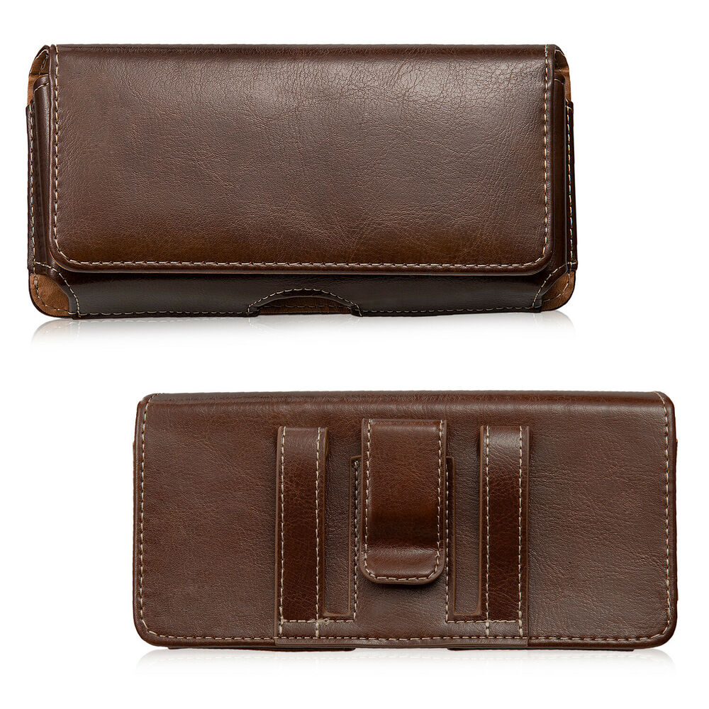 Iphone  Plus Leather Case With Belt Clip