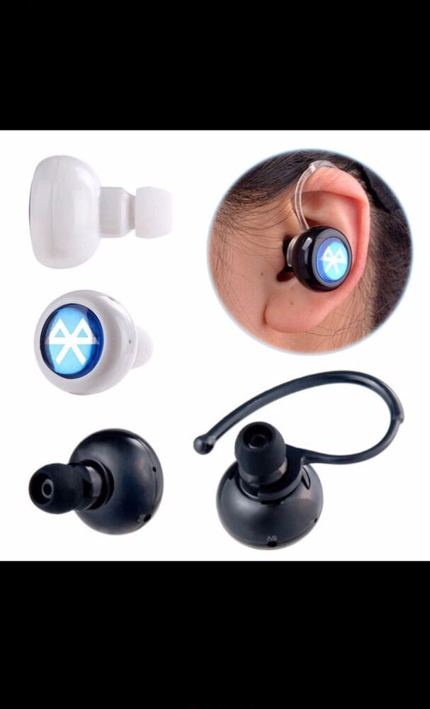 bluetooth headset kopfh rer farbe wei handfree mini ultra. Black Bedroom Furniture Sets. Home Design Ideas