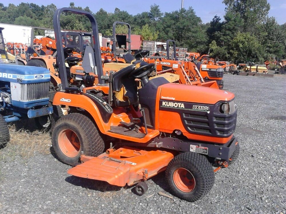 Kubota Sub Compact Tractors : Kubota bx d sub compact tractor with quot mid