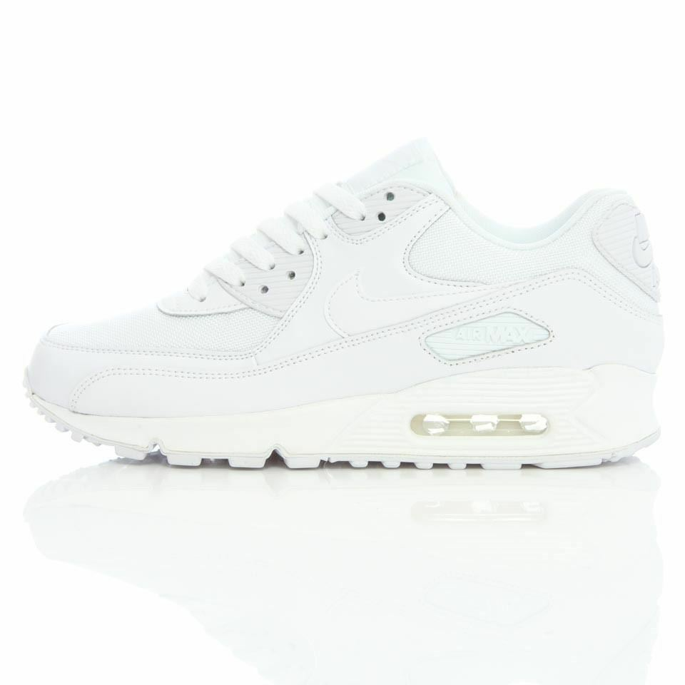 0ad6e5b7958a Details about Nike Mens Air Max 90 Essential White Trainer 537384 111