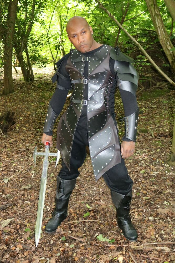how to make leather larp armor