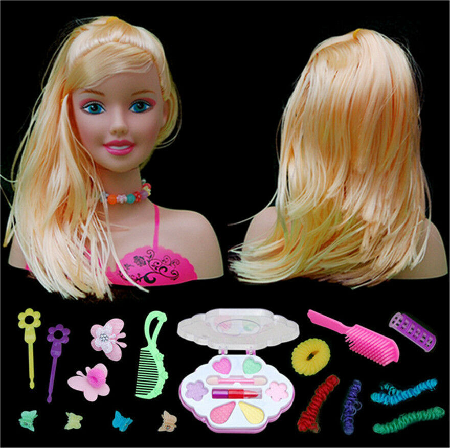 dolls hair styling doll styling with accessories comb brush 3412