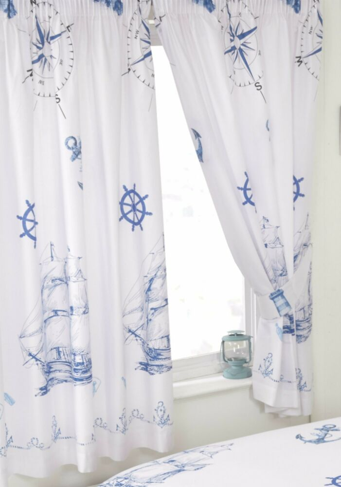 Black And White Ring Top Curtains