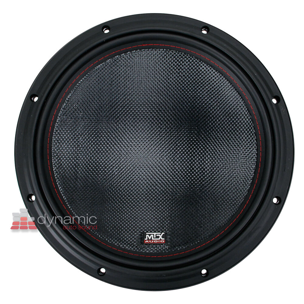 Mtx Audio 7512 22 Woofer Car Stereo 12 Sub Dvc 2 Ohm Subwoofer