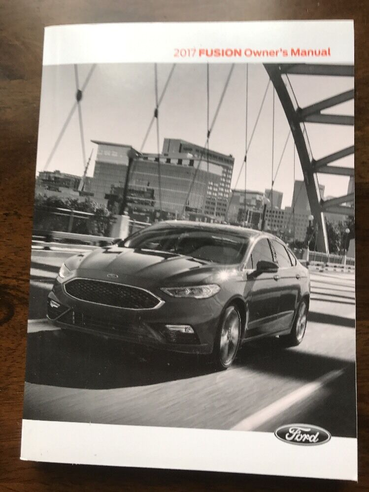 Details About 2017 Ford Fusion Owners Manual Owner