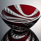 Bohemian Crystal Bowl - Red