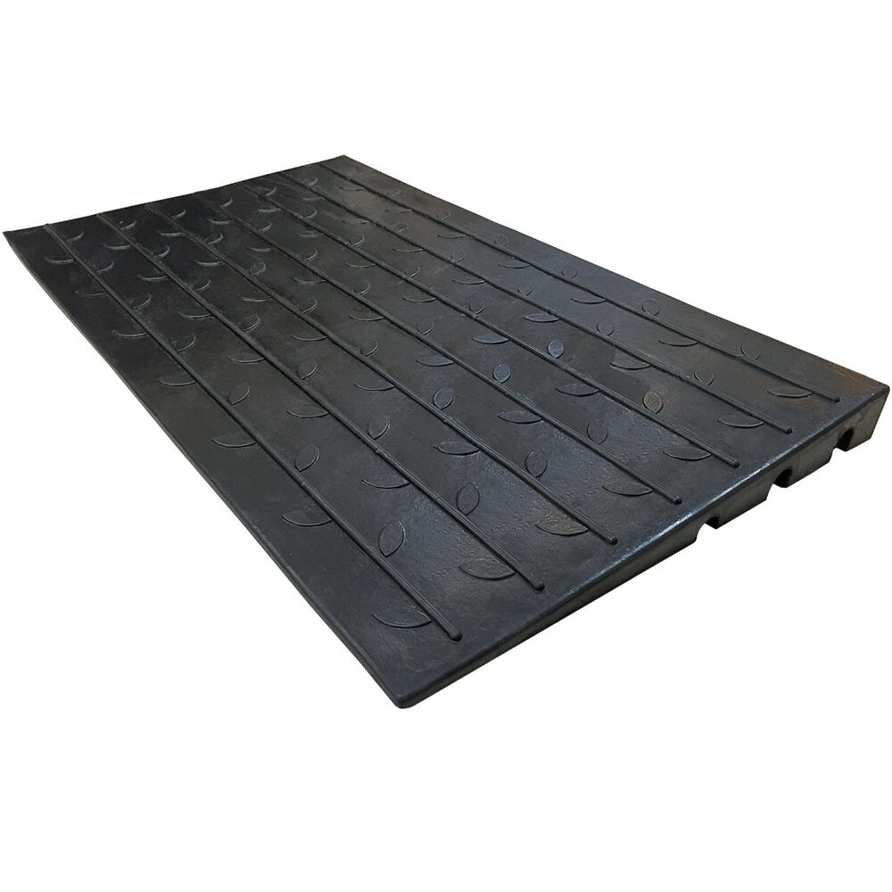 Rubber Threshold Ramp 2 5 Quot Rise For Doors Wheelchairs