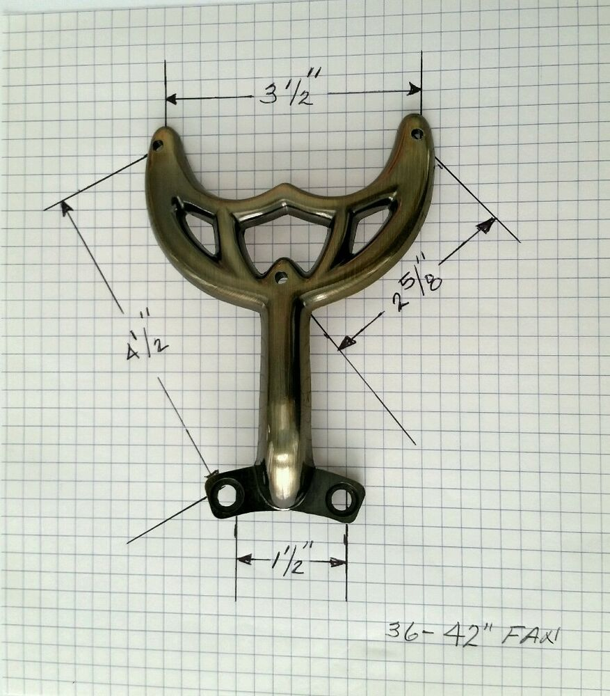 Old Hunter Fan Parts List : Quot antique brass ceiling fan blade arm replacement