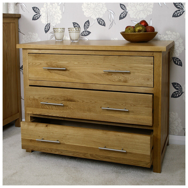 solid light oak chest of drawers oak bedroom furniture