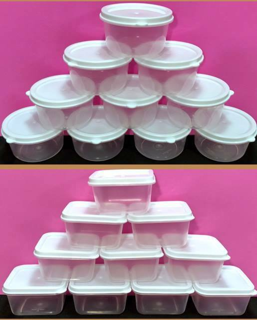 10 Storage Containers 2oz Craft Organization Food Storage