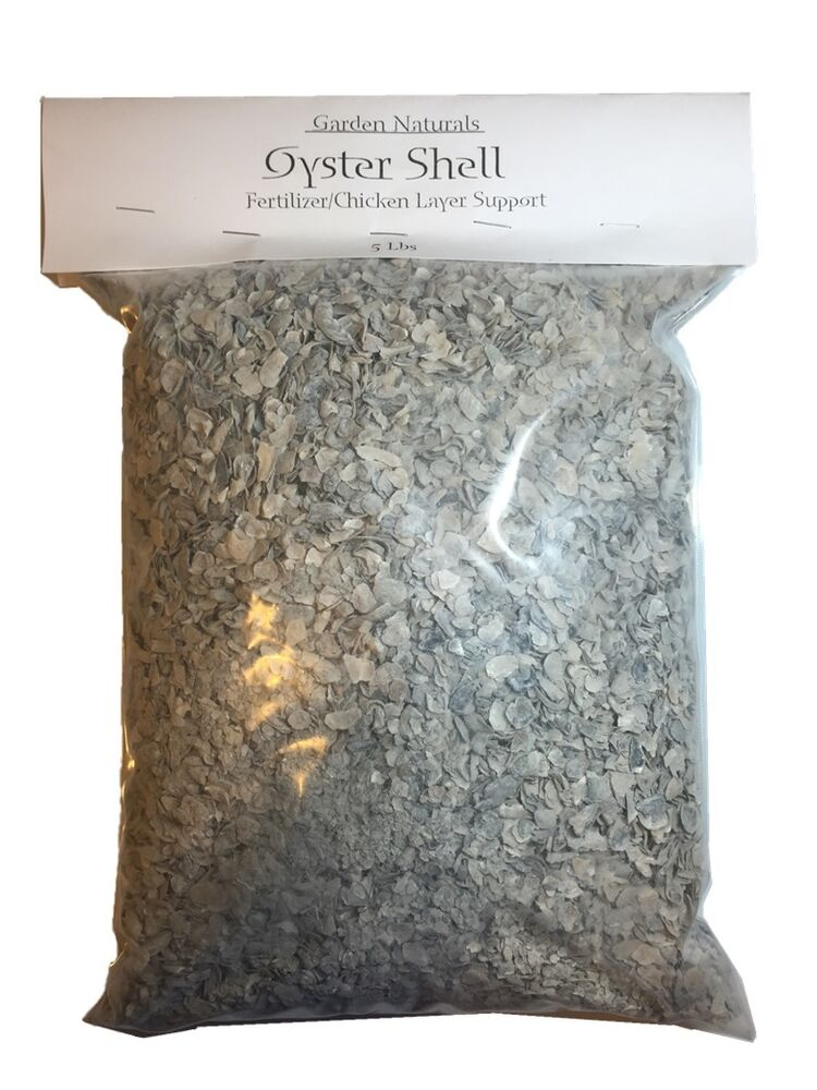 All Natural Crushed Oyster Shell 10 Pounds Garden