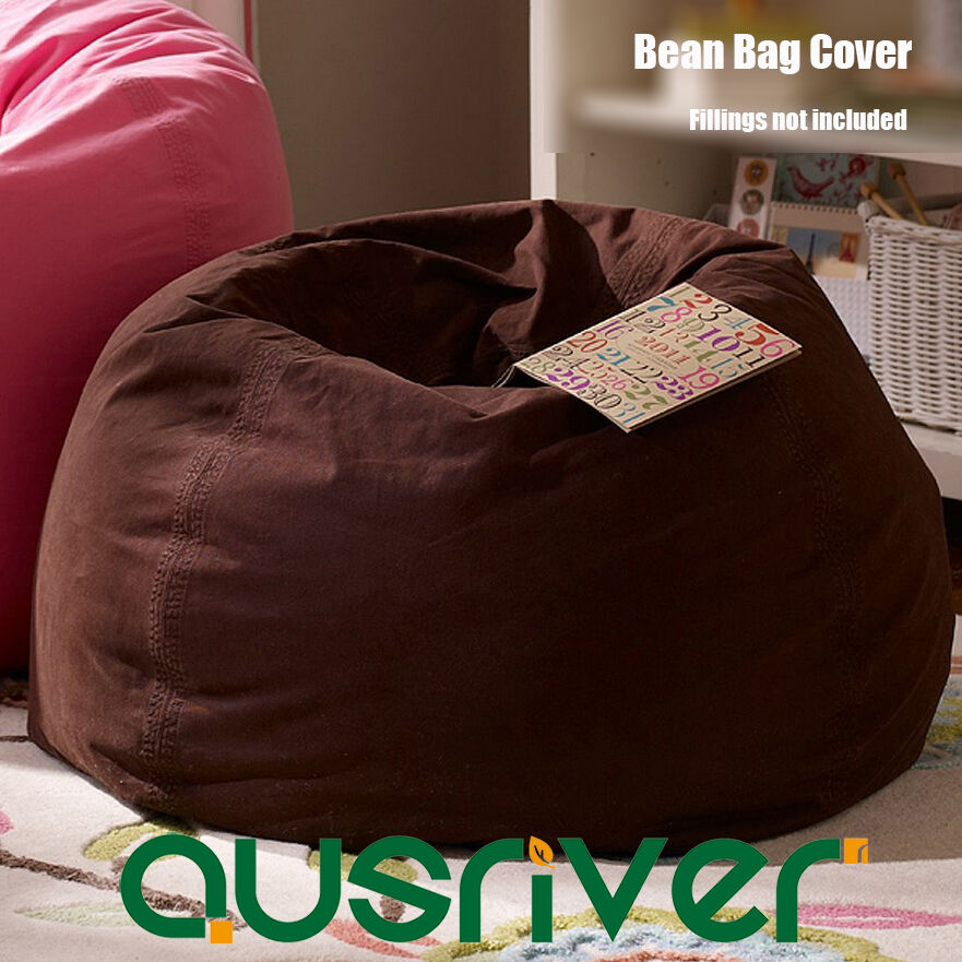 Bean Bag Chair Refill Beads New D70cm Indoor Adults Bean Bag Beanbag Cover Reading Chair with ...