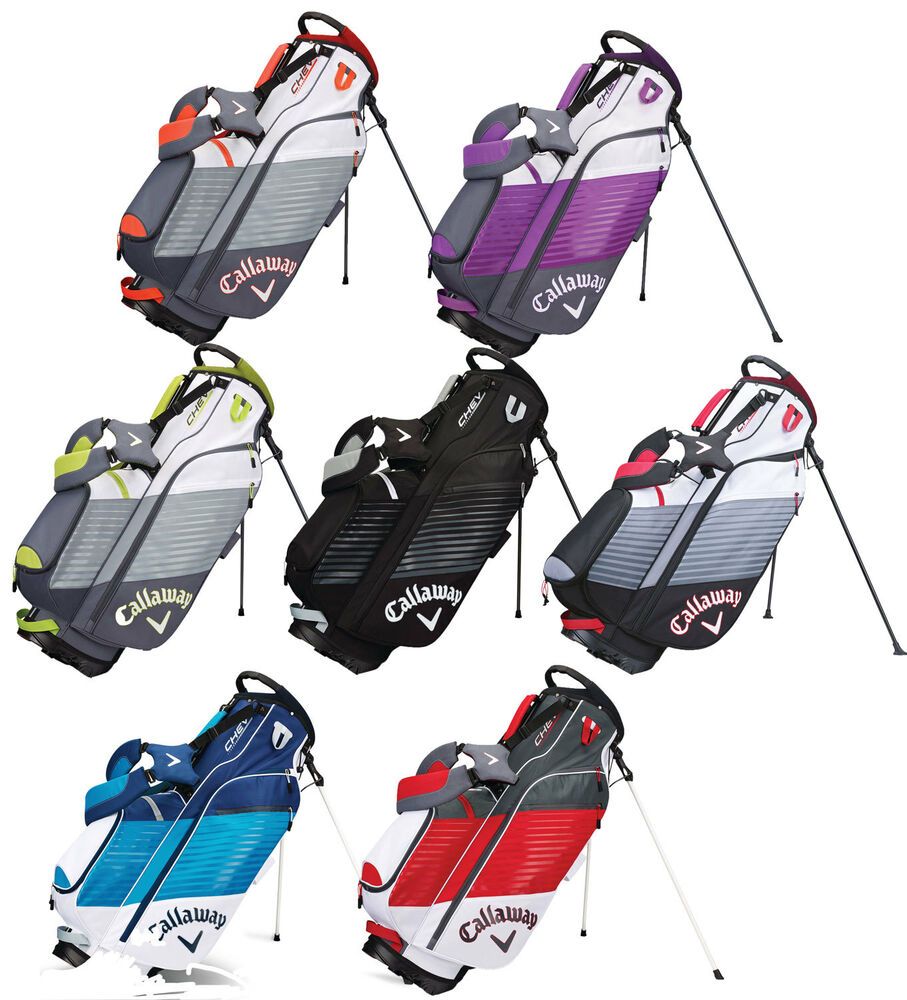 Callaway Golf Chev Stand Bag 2017 Mens Stand Bag New ...