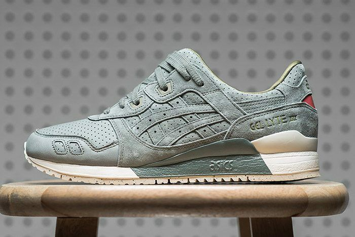 Asics Gel Lyte Iii Perforated Agave Green H7e0l 8181 Mens