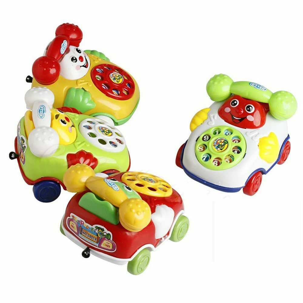 Baby Toy Cartoon Phone Music Educational Kids Toys Gift