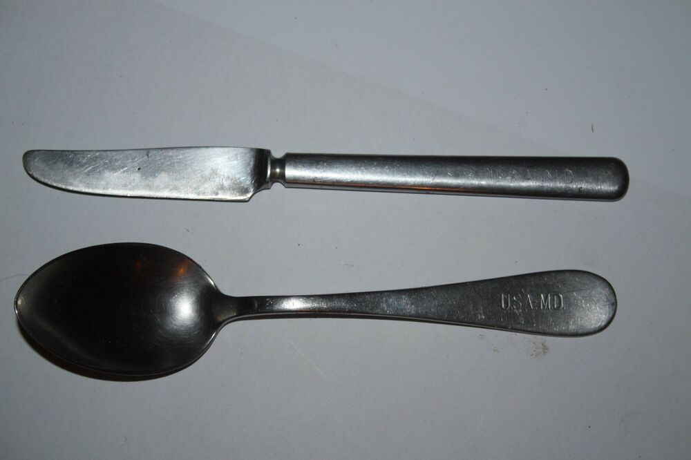 Cuillere US SILCO STAINLESS WW2 | eBay