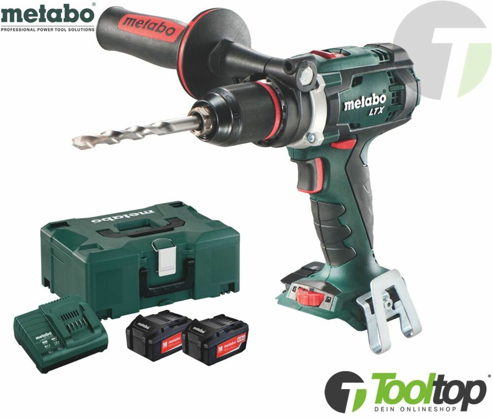 metabo 18v akkuschrauber bs 18 ltx 1 x akku 4 ah akku bohrschrauber impuls gsr ebay. Black Bedroom Furniture Sets. Home Design Ideas