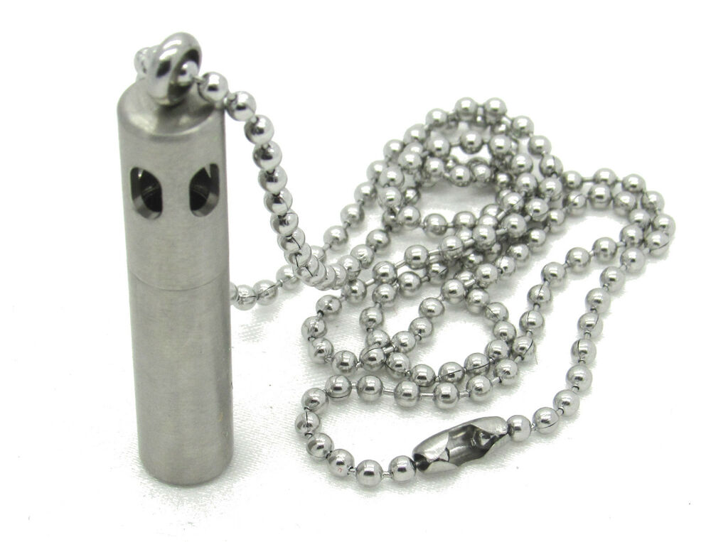 Stainless steel twist canister aromatherapy diffuser for Stainless steel jewelry necklace