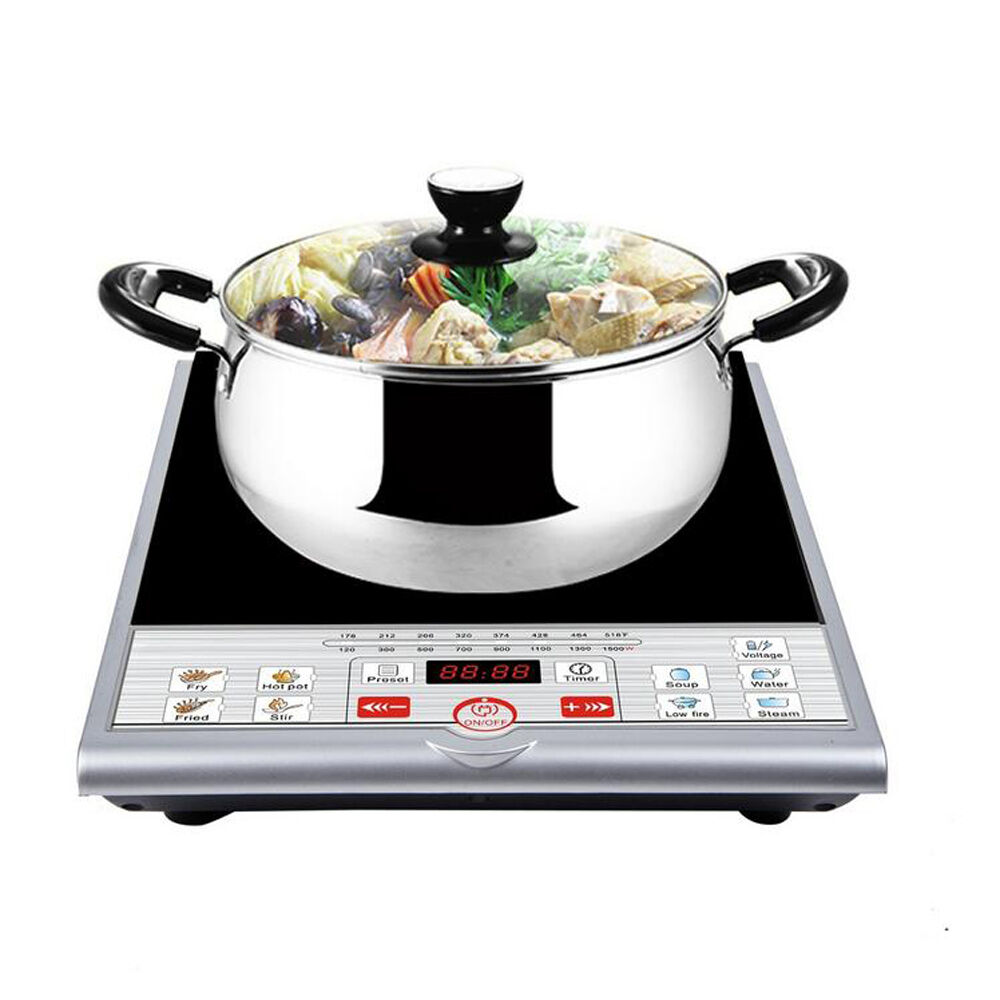Portable Induction Cooker ~ Portable w induction cooker electric cooktop burner