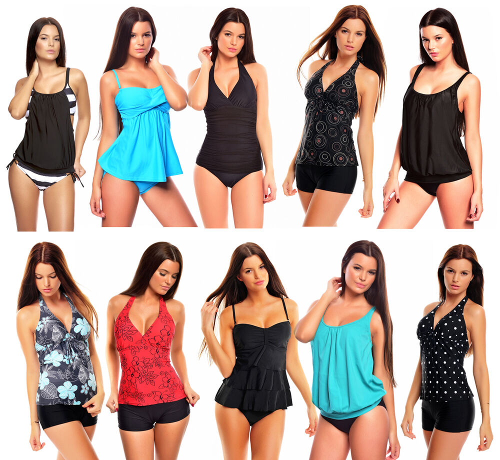 unsere topseller tankini badeanzug bikini monokini neu gr sse 38 56 ebay. Black Bedroom Furniture Sets. Home Design Ideas