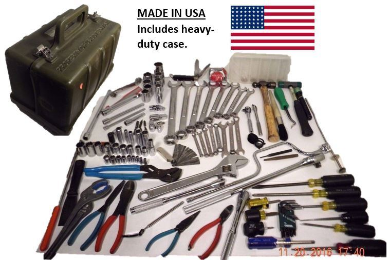 Military general mechanic tool kit set gmtk all tools for Gardening tools jakarta