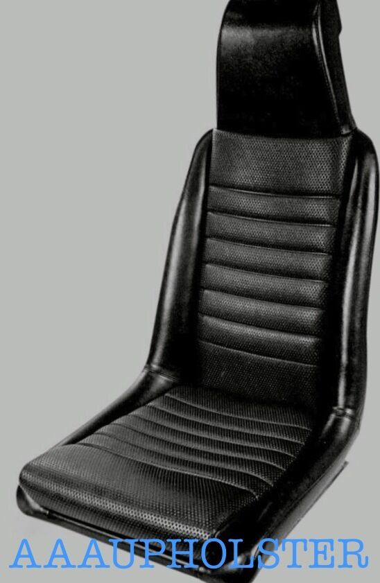 Fits Porsche 914 Front Seats New Upholstery Recovery Kit Fits 1975 1976 Black Ebay