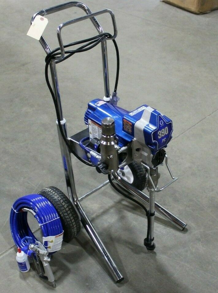 Graco 390 Pc Pro Connect Hiboy Electric Airless Sprayer