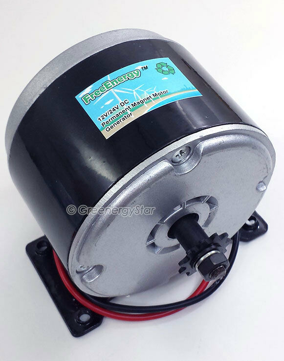 Freeenergy 12v 24v Dc Permanent Magnet Motor Generator For