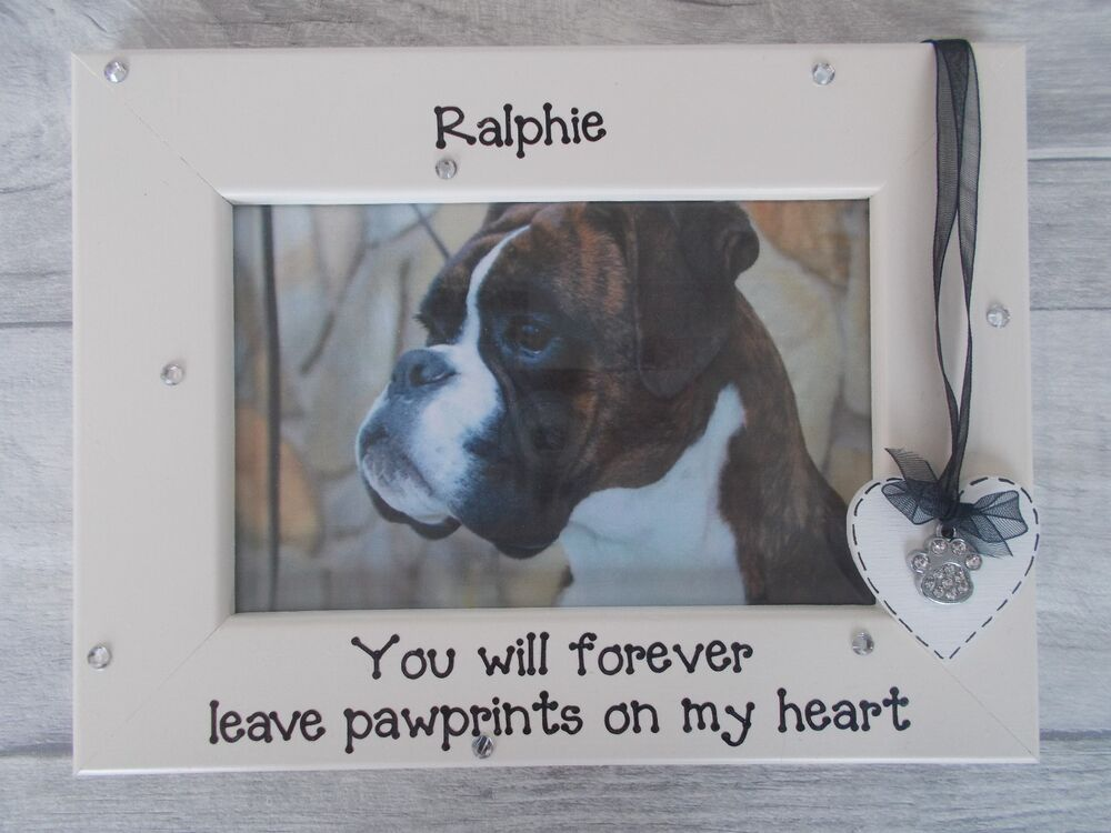 Dog Memory Personalised Photo Frame 6x4 5x7 8x6 10x8 Any